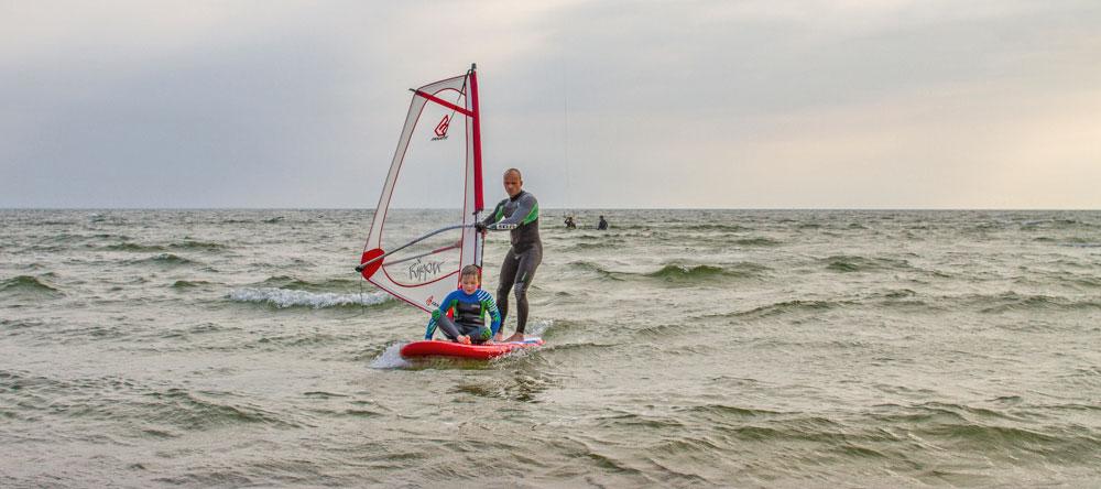 Ostsee Windsurfen lernen Insel Rügen
